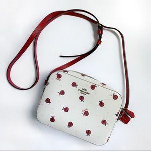Coach ladybug Mini Crossbody bag 🐞